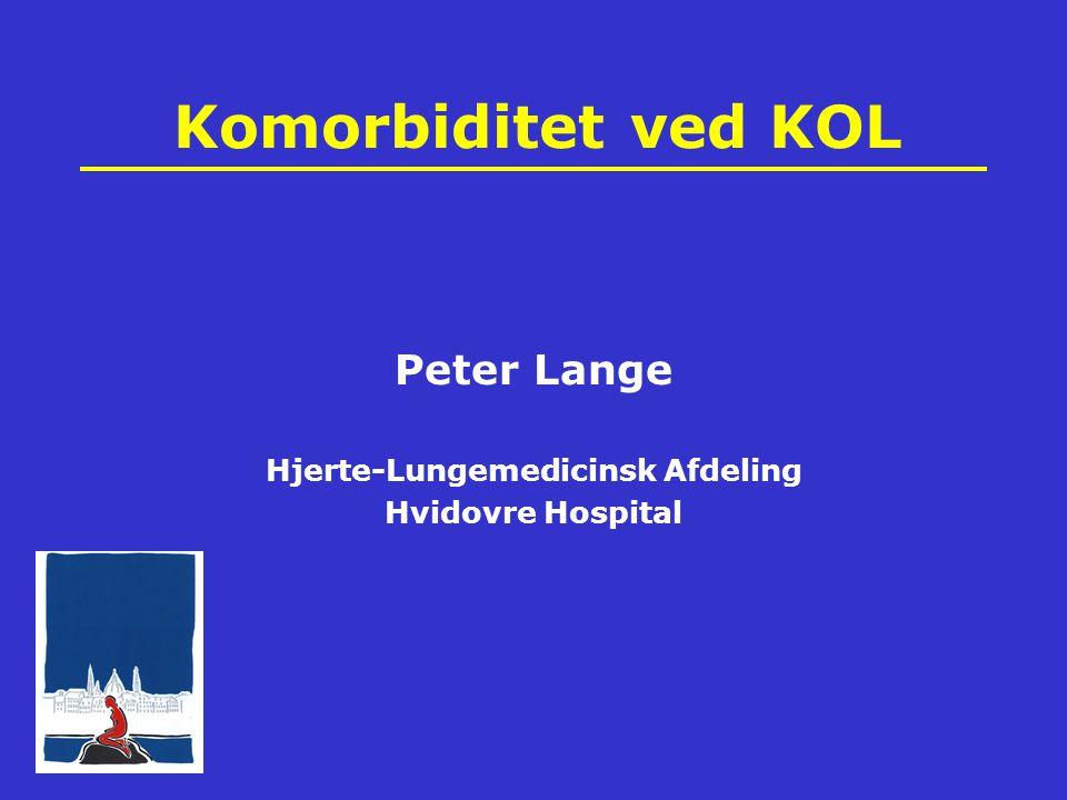 Komorbiditet ved KOL Peter Lange Hjerte-Lungemedicinsk Afdeling Hvidovre Hospital