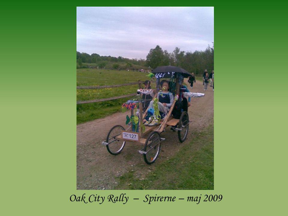 Oak City Rally – Spirerne – maj 2009