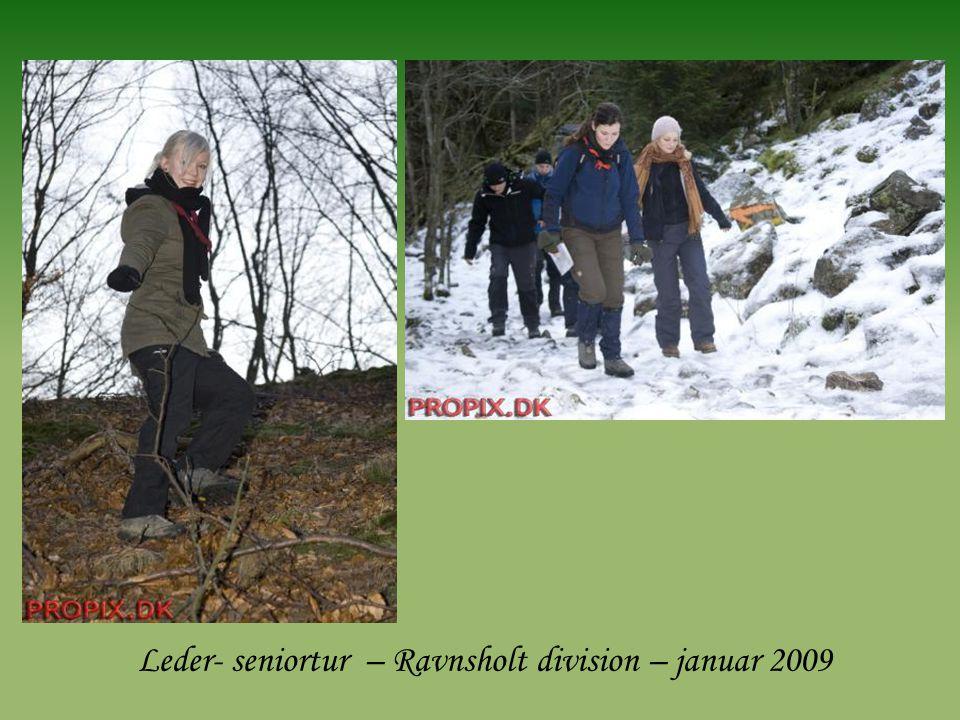 Leder- seniortur – Ravnsholt division – januar 2009