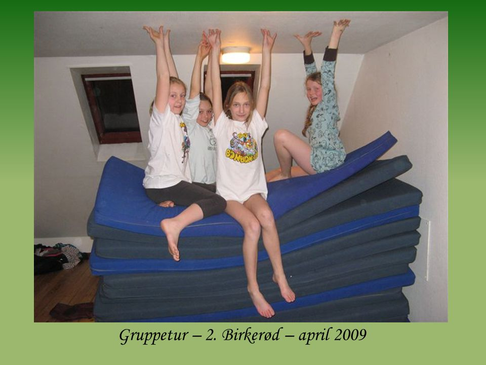 Gruppetur – 2. Birkerød – april 2009