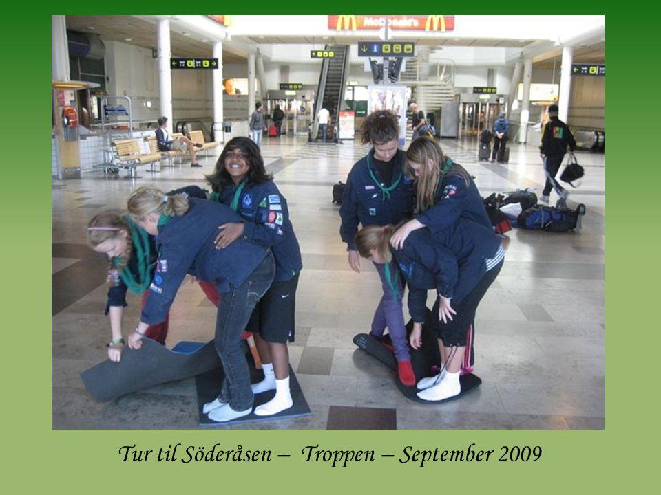 Tur til Söderåsen – Troppen – September 2009