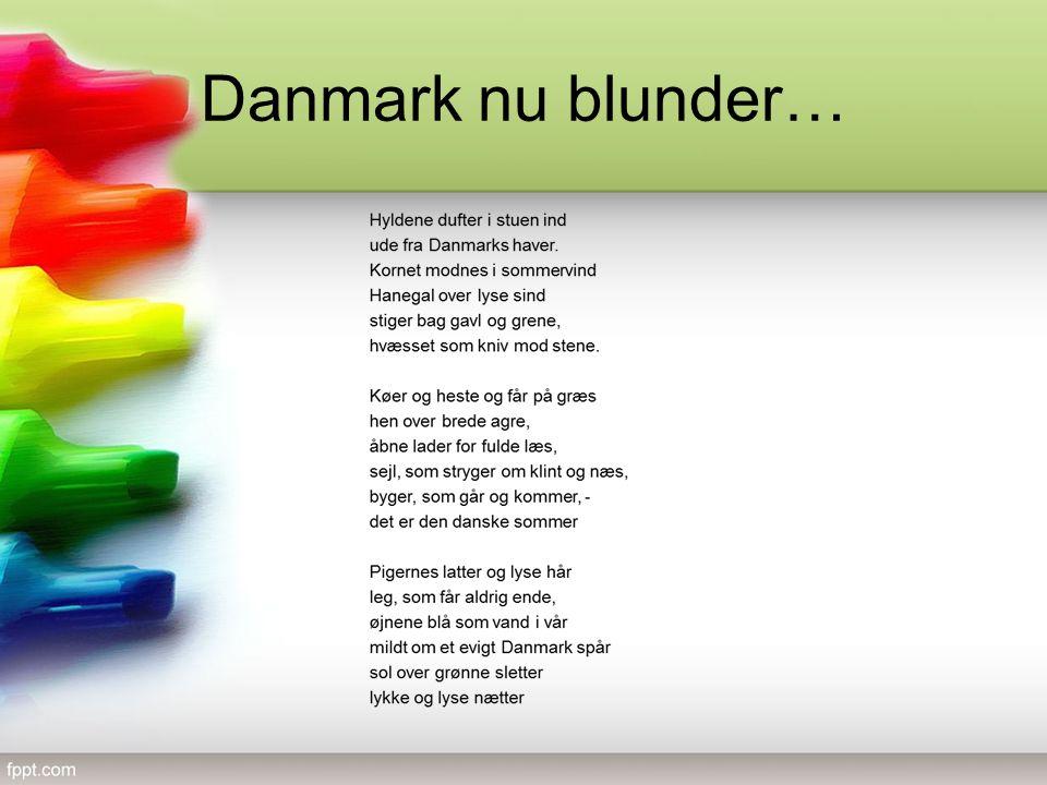 Danmark nu blunder…