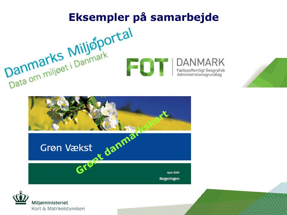 Eksempler på samarbejde Grønt danmarkskort