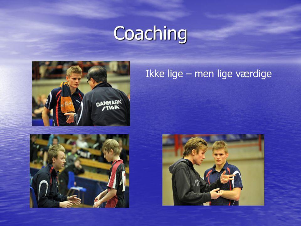 Coaching Ikke lige – men lige værdige