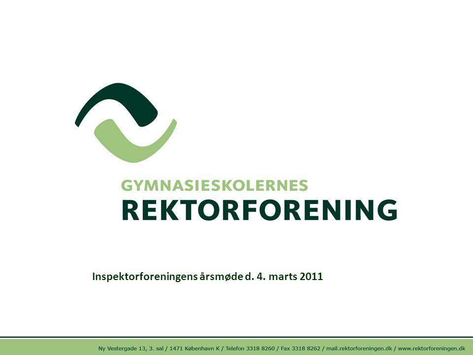 Inspektorforeningens årsmøde d. 4. marts 2011