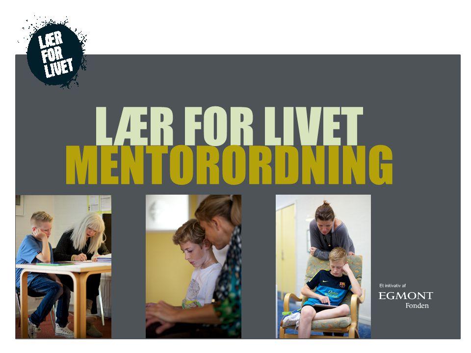 LÆR FOR LIVET MENTORORDNING