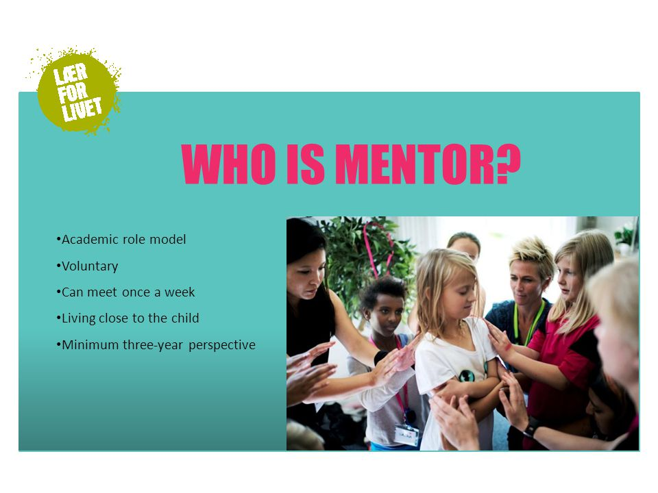 WHO IS MENTOR.