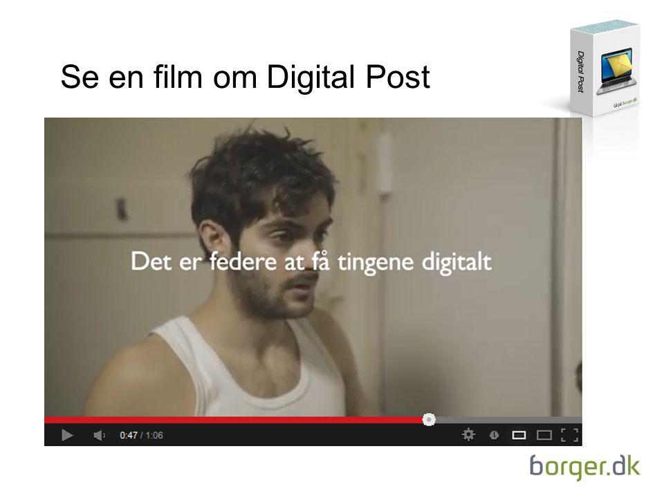 Se en film om Digital Post