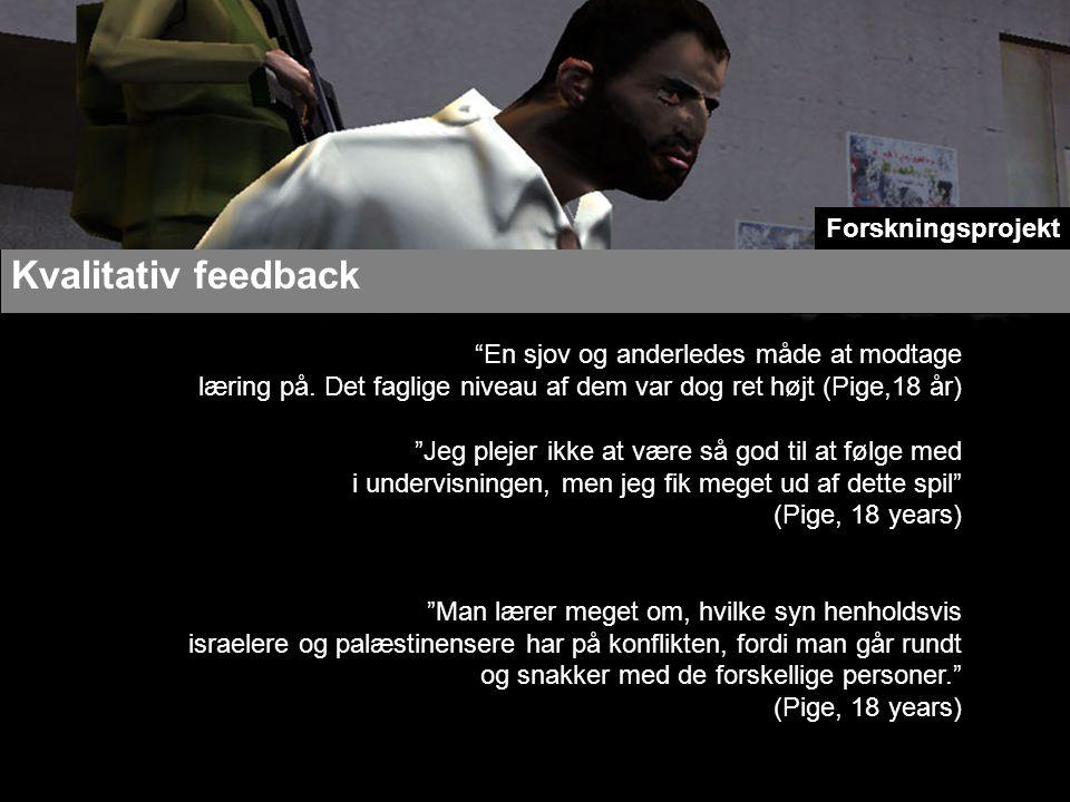 Kvalitativ feedback En sjov og anderledes måde at modtage læring på.