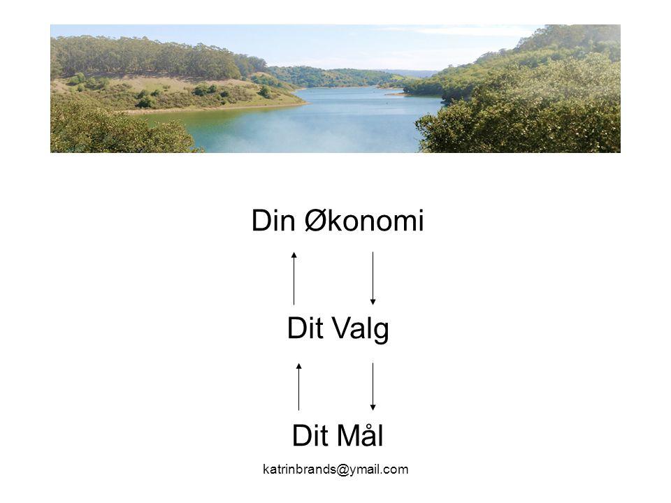 katrinbrands@ymail.com Din Økonomi Dit Valg Dit Mål