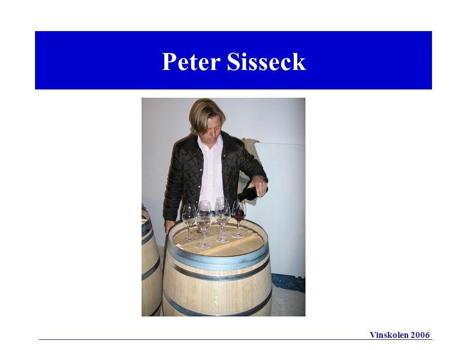 Peter Sisseck Vinskolen 2006