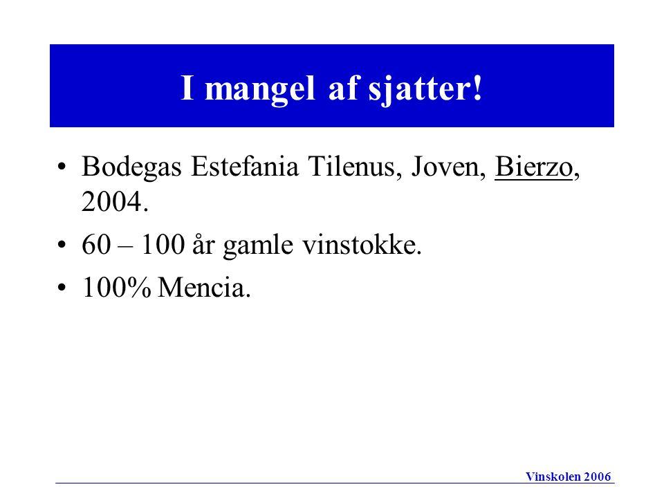 Bodegas Estefania Tilenus, Joven, Bierzo, 2004. 60 – 100 år gamle vinstokke.