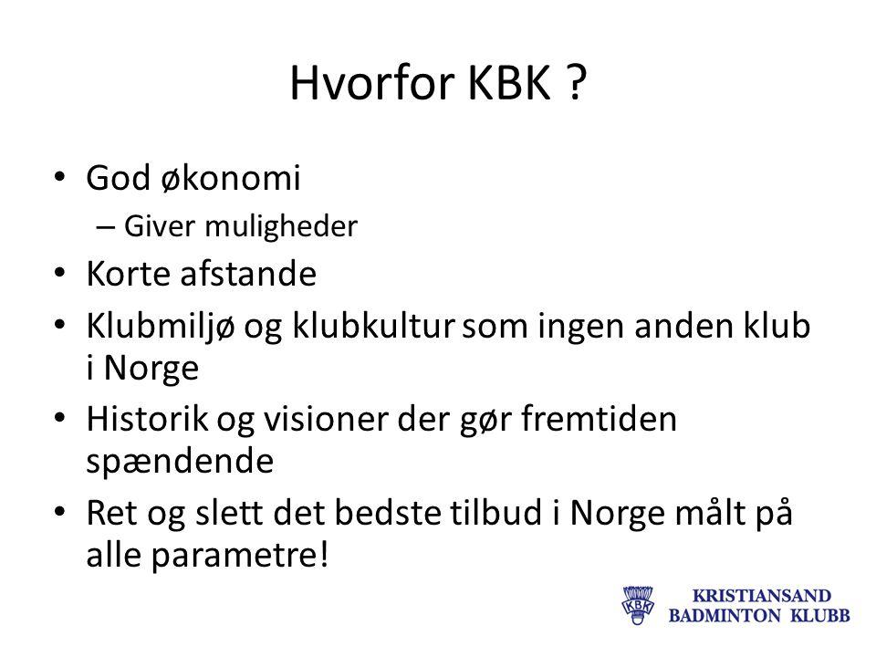 Hvorfor KBK .