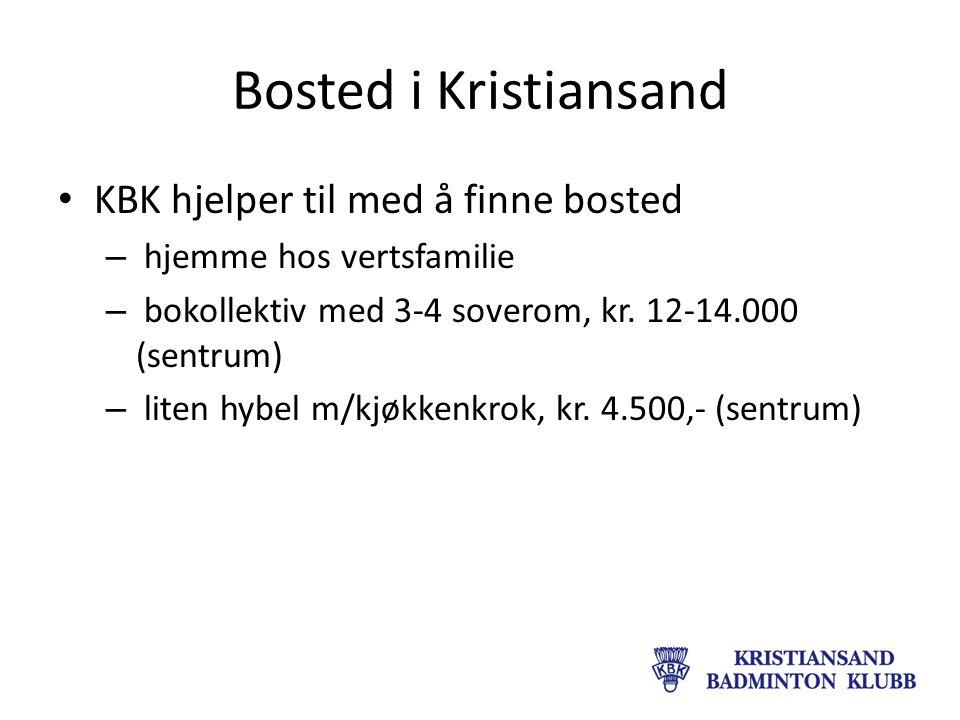 Bosted i Kristiansand KBK hjelper til med å finne bosted – hjemme hos vertsfamilie – bokollektiv med 3-4 soverom, kr.