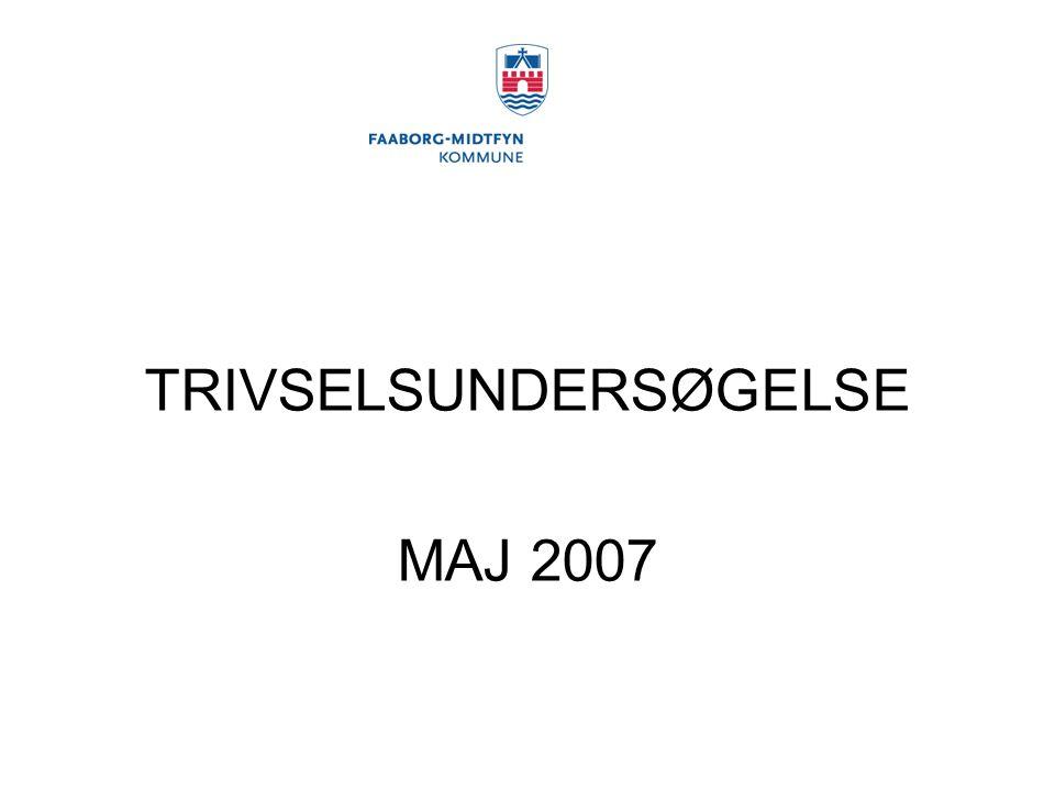 TRIVSELSUNDERSØGELSE MAJ 2007