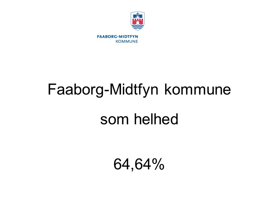 Faaborg-Midtfyn kommune som helhed 64,64%