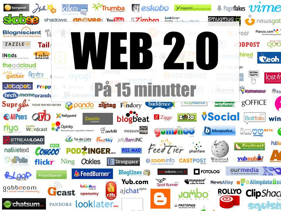 WEB 2.0 På 15 minutter