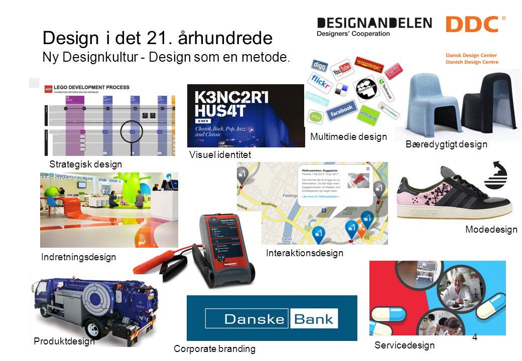 Design i det 21. århundrede Ny Designkultur - Design som en metode.