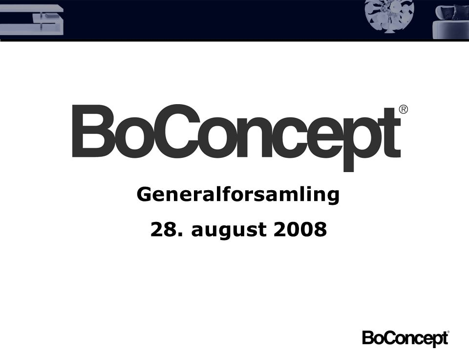 Generalforsamling 28. august 2008