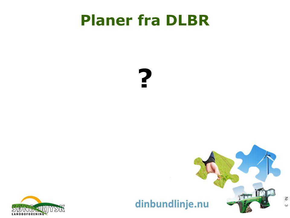 www.slf.dk dinbundlinje.nu Planer fra DLBR Nr. 3