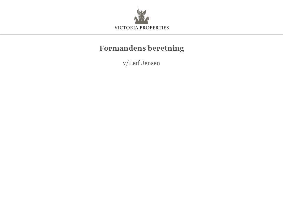 v/Leif Jensen Formandens beretning