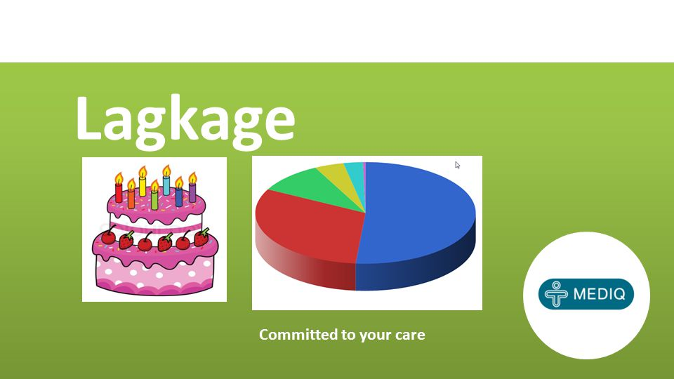 Lagkage Committed to your care