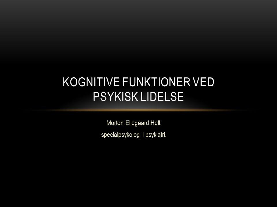 kognitive funktioner definition