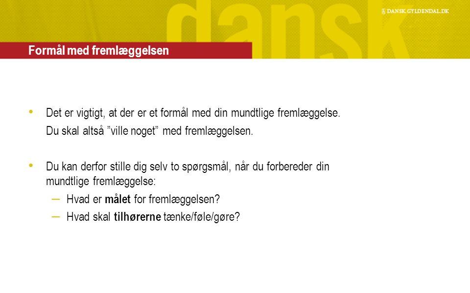 forberedelse til dansk mundtlig eksamen