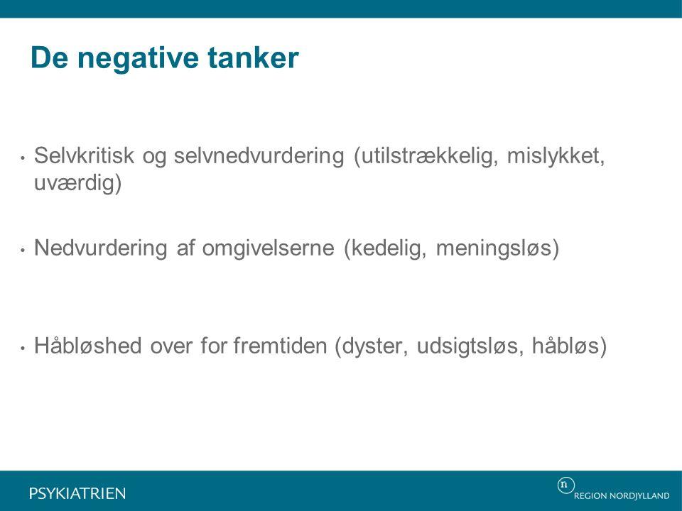 negative tanker depression