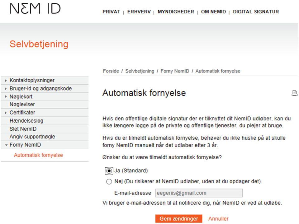 forny digital signatur