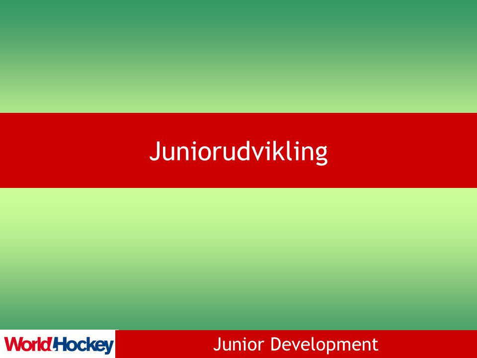 Junior Development Juniorudvikling