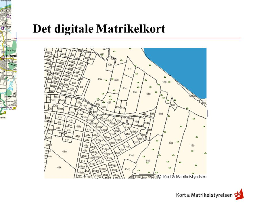 Det digitale Matrikelkort