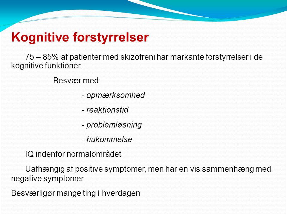 skizofreni negative symptomer